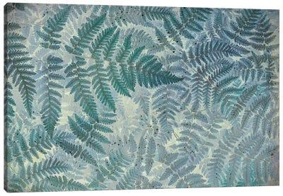 Oak Fern Pattern Canvas Art Print
