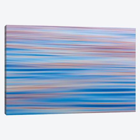 Abstract Water Ripples At Sunset, Alaska, USA Canvas Print #DPA7} by Don Paulson Canvas Wall Art