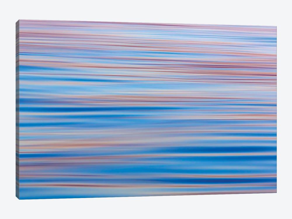 Abstract Water Ripples At Sunset, Alaska, USA by Don Paulson 1-piece Canvas Art