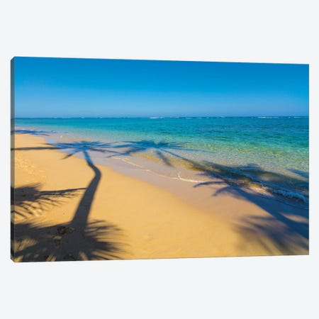 Kaaawa, Beach, Windward, Oahu, Hawaii Canvas Print #DPE4} by Douglas Peebles Canvas Art