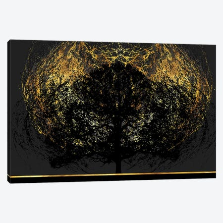 Burning Bush Canvas Print #DPH10} by Daphne Horev Art Print