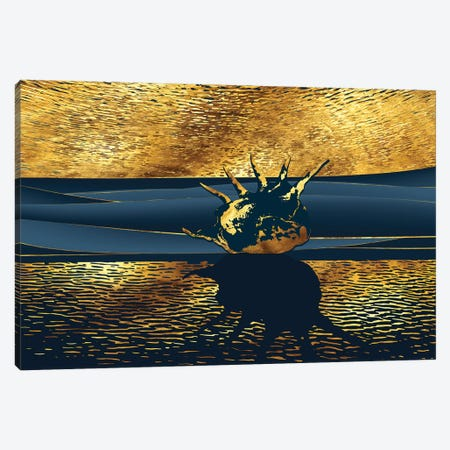 After Sunset Canvas Print #DPH1} by Daphne Horev Canvas Wall Art