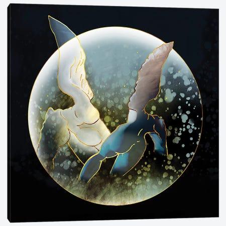 Rising Angels I Canvas Print #DPH39} by Daphne Horev Canvas Print