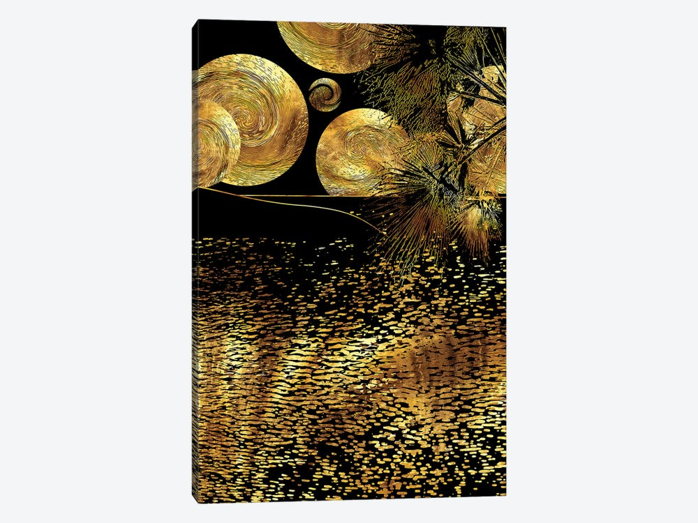 Starry Night by Daphne Horev 1-piece Canvas Artwork