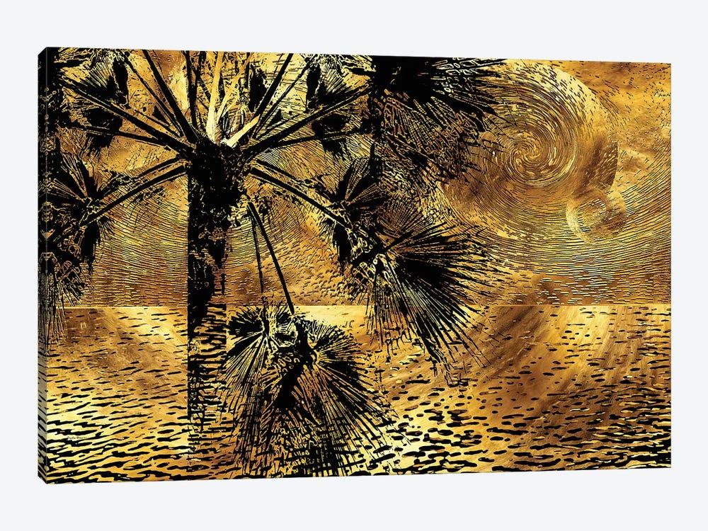 Tropical Nocturne by Daphne Horev 1-piece Canvas Art
