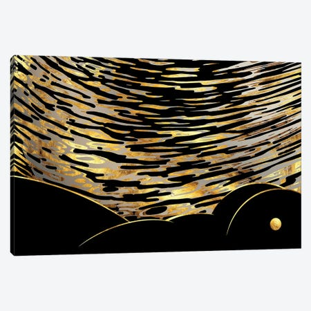 Underwater Venus Canvas Print #DPH53} by Daphne Horev Canvas Print