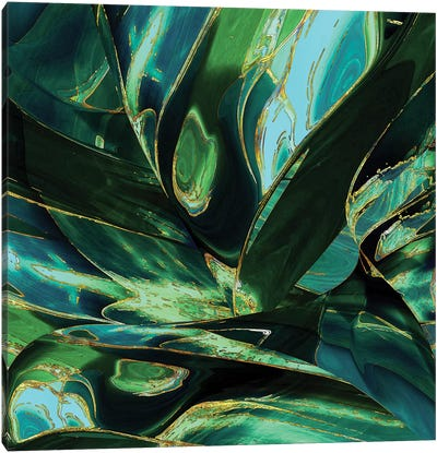 Wild Green Canvas Art Print