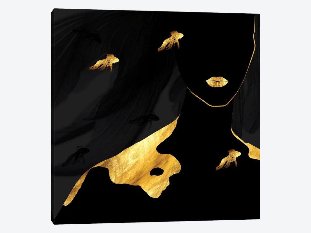 Submerged by Daphne Horev 1-piece Canvas Art