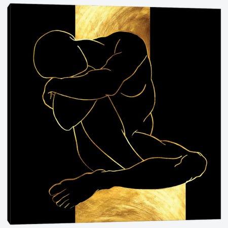Dreaming Caryatid Canvas Print #DPH82} by Daphne Horev Canvas Art