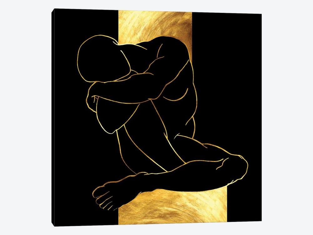 Dreaming Caryatid by Daphne Horev 1-piece Canvas Art
