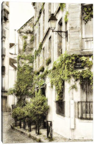 Rue Poulbo Canvas Art Print