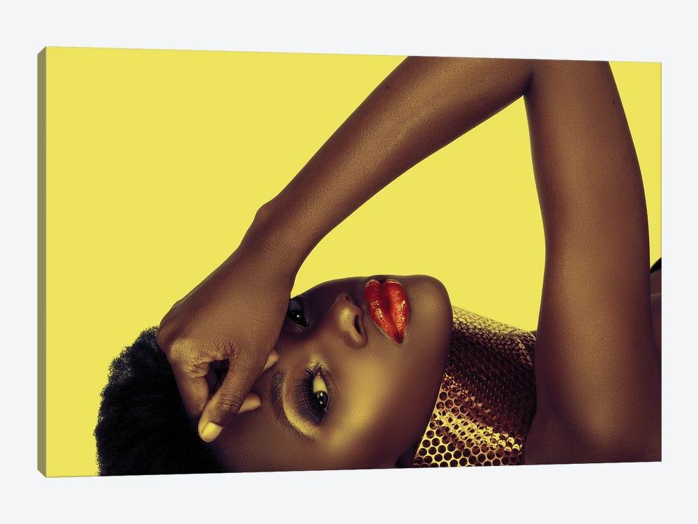Beautiful African American Woman by lubavnel 1-piece Art Print