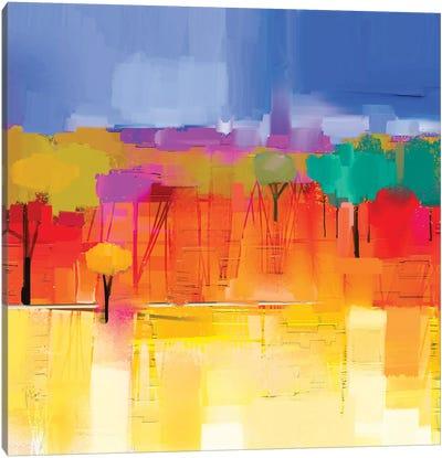 Colorful Landscape I Canvas Art Print