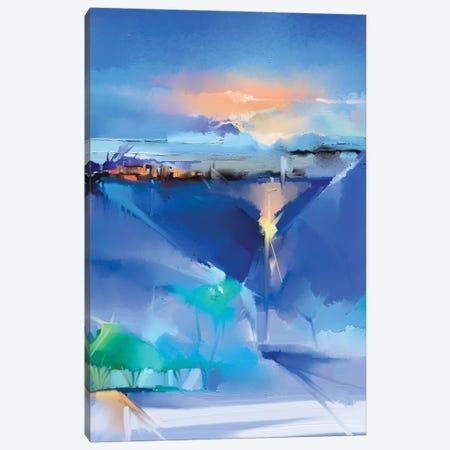 Colorful Landscape II Canvas Print #DPT139} by Nongkran ch Canvas Art Print
