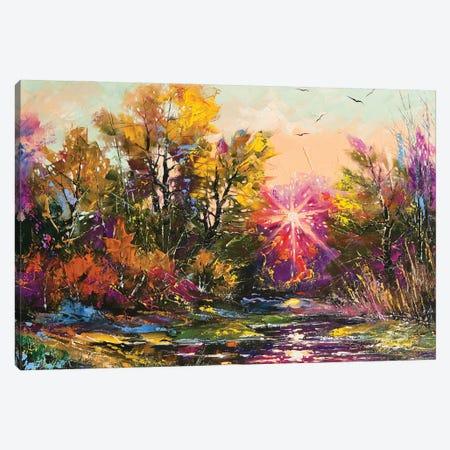 Autumn Decline Canvas Print #DPT13} by balaikin Canvas Print