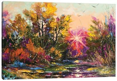 Autumn Decline Canvas Art Print