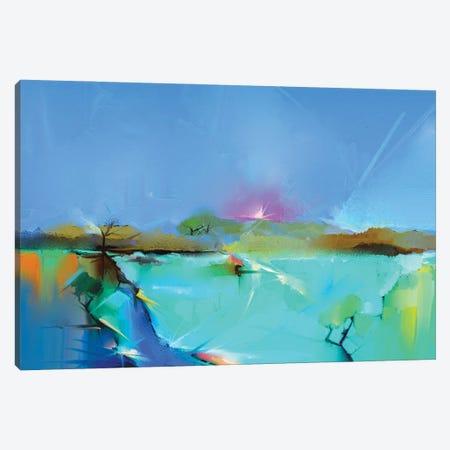 Colorful Landscape III Canvas Print #DPT140} by Nongkran ch Canvas Art