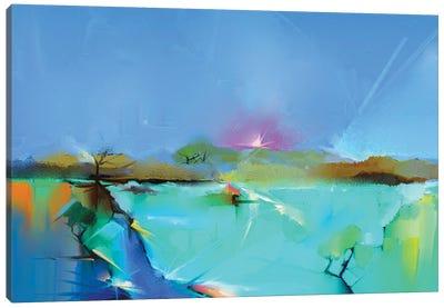 Colorful Landscape III Canvas Art Print