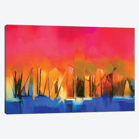 Colorful Landscape IV Canvas Print #DPT141} by Nongkran ch Canvas Art