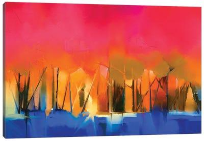 Colorful Landscape IV Canvas Art Print