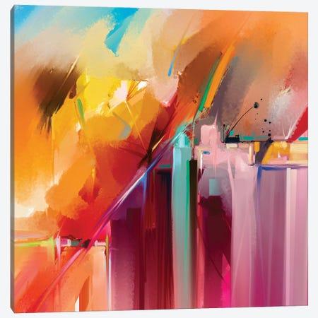 Colorful Landscape V Canvas Print #DPT142} by Nongkran ch Canvas Wall Art