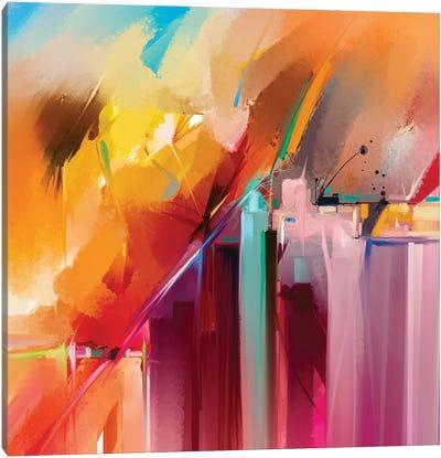 Colorful Landscape V Canvas Art Print