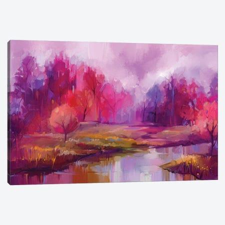 Autumn, Fall Season Nature Background Canvas Print #DPT154} by Nongkran ch Canvas Wall Art