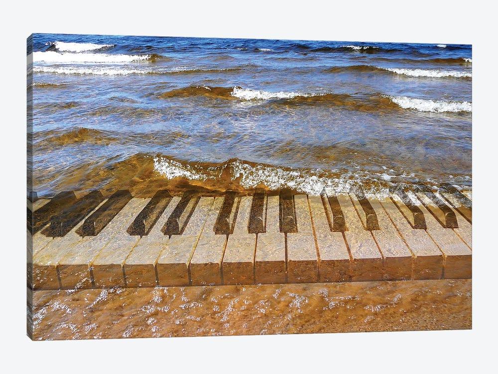 Surf Music by olejnik 1-piece Art Print
