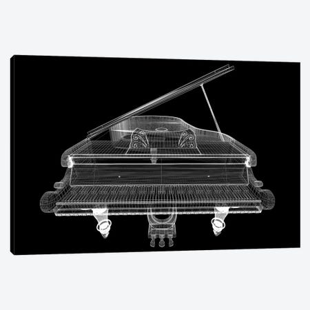 Antique Grand Piano With Path I Canvas Print #DPT170} by Podsolnukh Canvas Print