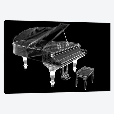 Antique Grand Piano With Path III Canvas Print #DPT172} by Podsolnukh Canvas Print