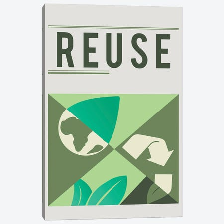Reuse Canvas Print #DPT176} by Rawpixel Canvas Wall Art