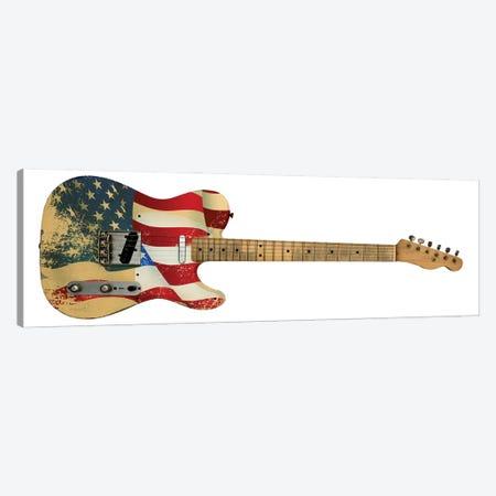 Electric Guitar Canvas Print #DPT17} by bertys30 Canvas Art