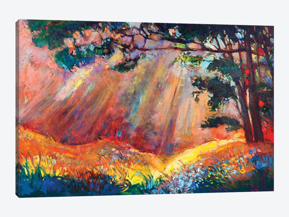 Autumn Forest I by borojoint 1-piece Art Print