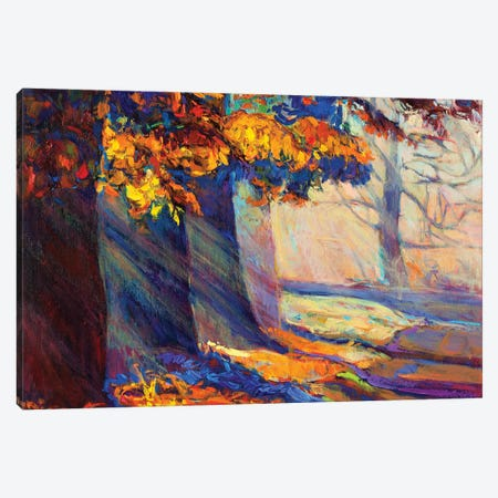 Autumn Forest II Canvas Print #DPT20} by borojoint Canvas Artwork