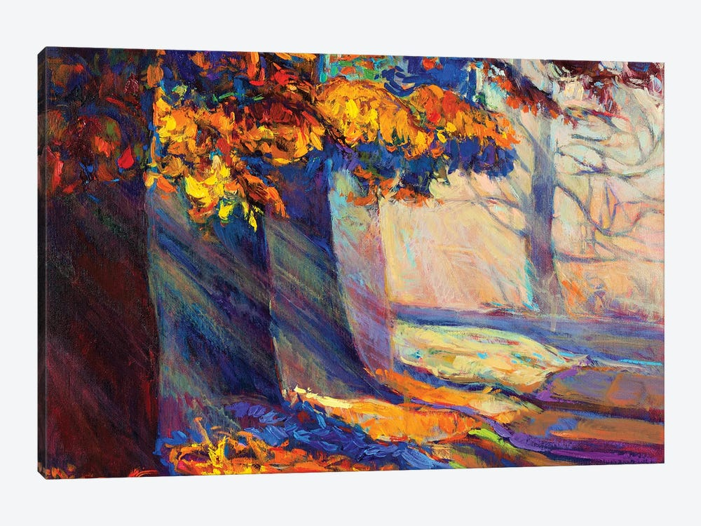 Autumn Forest II by borojoint 1-piece Canvas Print