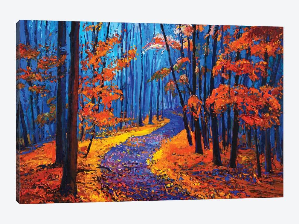 Autumn Landscape by borojoint 1-piece Canvas Print