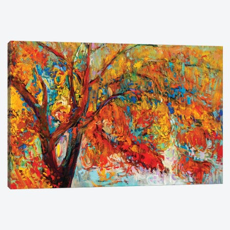 Autumn Tree I Canvas Print #DPT23} by borojoint Canvas Wall Art