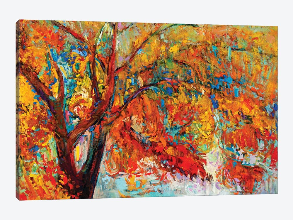 Autumn Tree I by borojoint 1-piece Canvas Artwork