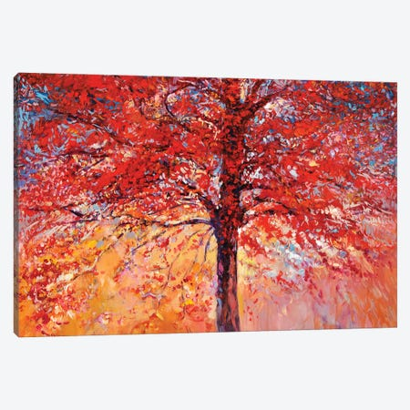 Autumn Tree III Canvas Print #DPT25} by borojoint Art Print