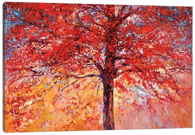 Autumn Tree III Canvas Art Print