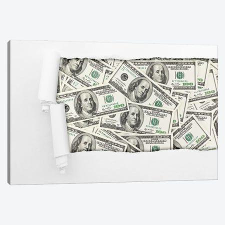 Dollars Canvas Print #DPT273} by robertsrob Canvas Wall Art