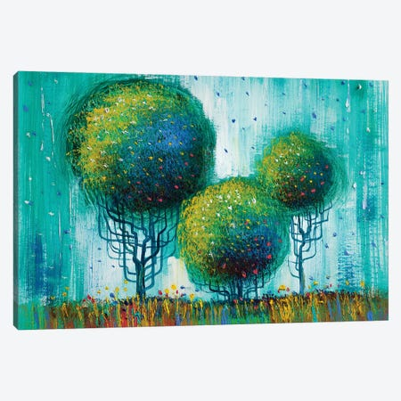 Colorful Trees II Canvas Print #DPT281} by sbelov Canvas Print