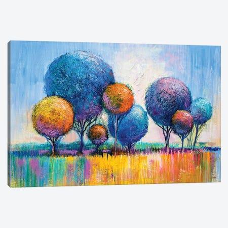 Colorful Trees III Canvas Print #DPT282} by sbelov Art Print