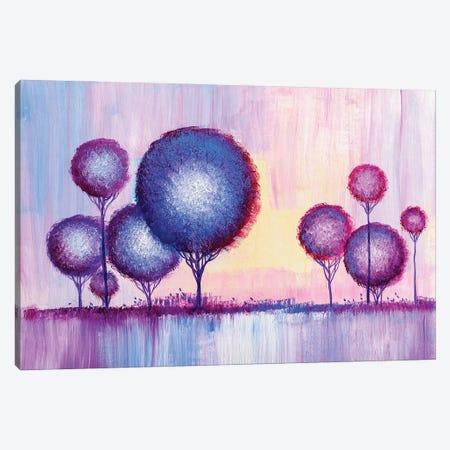 Colorful Trees VI Canvas Print #DPT285} by sbelov Canvas Art