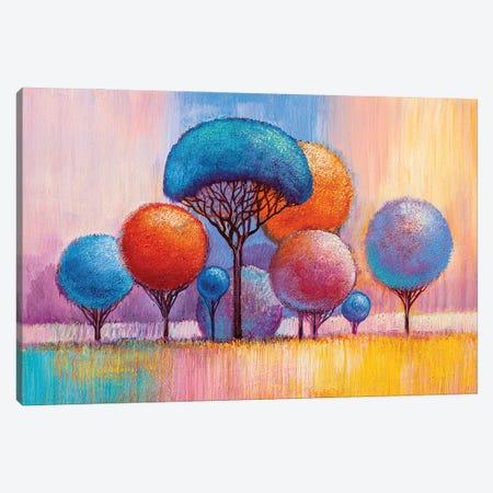 Colorful Trees VIII Canvas Print #DPT287} by sbelov Canvas Art