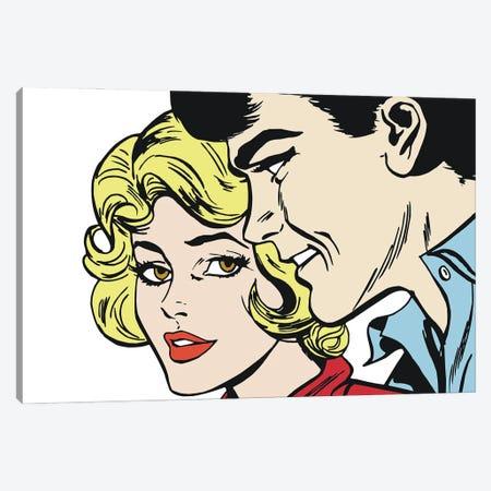 Couple Of Lovers Canvas Print #DPT402} by Depositphotos Canvas Art Print