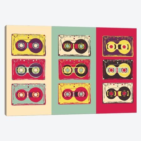 Cassettes Canvas Print #DPT403} by Depositphotos Canvas Print