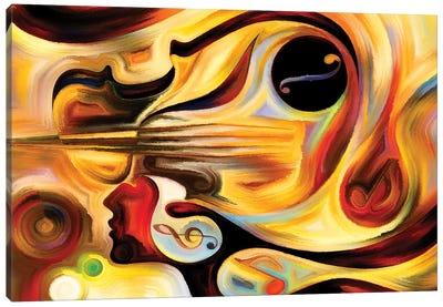 Advance Of Music Canvas Art Print