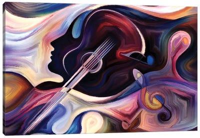 Inner Life Of Music I Canvas Art Print