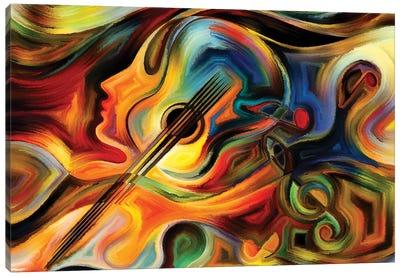 Inner Life Of Music II Canvas Art Print